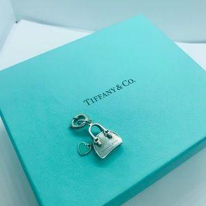 Tiffany handbag charm